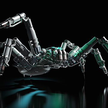 Peter Bollinger is an award winning illustrator, book illustrator, commercial artist, and digital artist who creates 3D illustrations of spiders