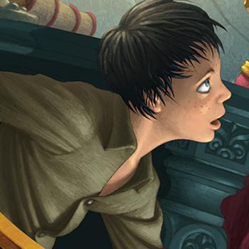 ANTONIO JAVIER CAPARO is an illustrator who create this illustration of an asian man