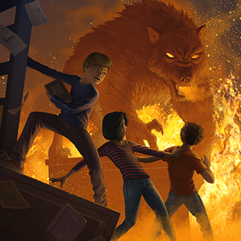 ANTONIO JAVIER CAPARO is an illustrator who create this illustration of  a bear