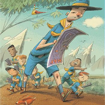 Illustration by JIMMY HOLDER