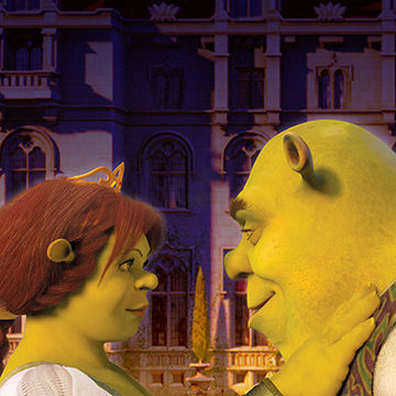 Michael Koelsch is an award winning illustrator, graphic designer, commercial artist, and digital artist whose created this retro poster art of  Shrek